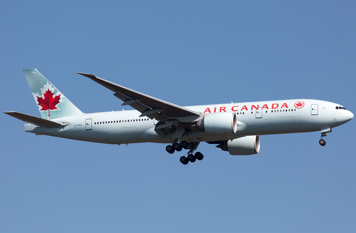 Boeing 777 200 Air Canada Photos And Description Of The Plane