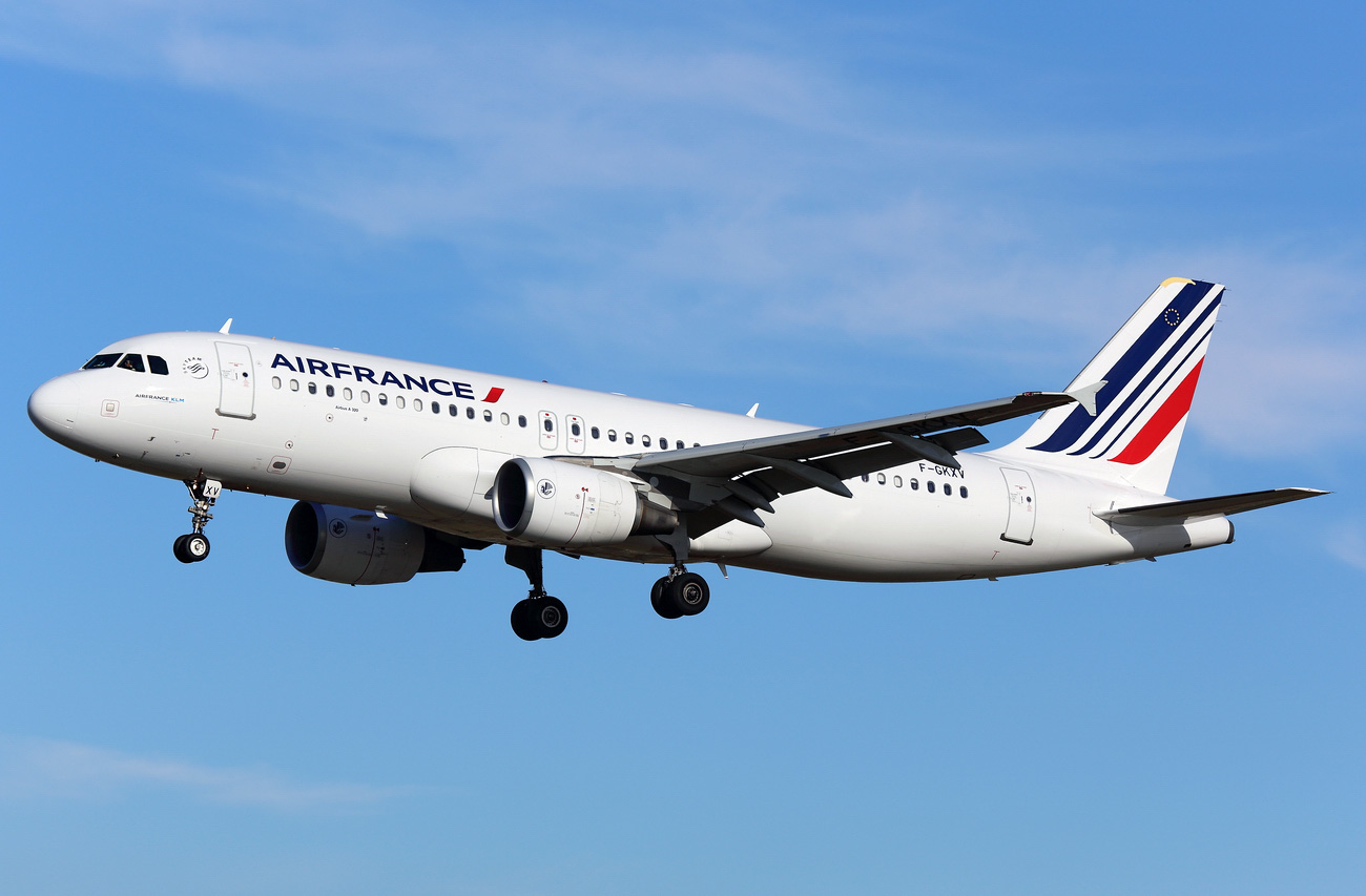 Airbus A320-200 Air France. Photos and description of the