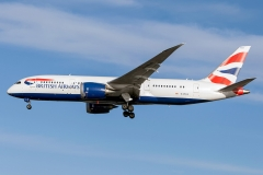 British Airways Boeing 787-8 Dreamliner