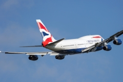 g-bygb British Airways Boeing 747-400