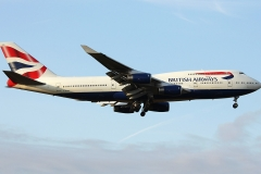 g-bygd British Airways Boeing 747