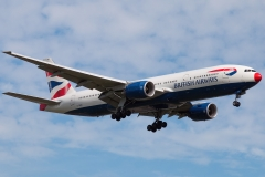 g-ymme British Airways Boeing 777-200
