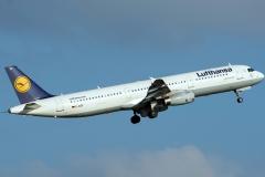 d-aidf Lufthansa Airbus A321-231