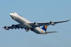 d-aifd Lufthansa Airbus A340-310