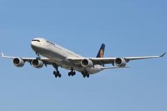 d-aiha Lufthansa Airbus A340-642