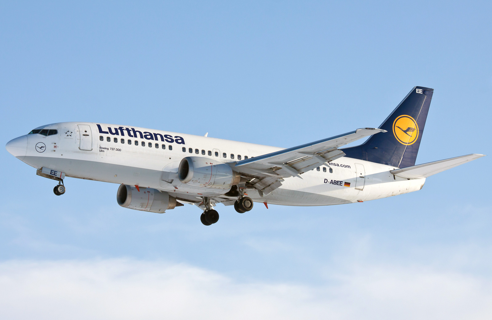 Boeing 737 300 Lufthansa Photos And Description Of The Plane