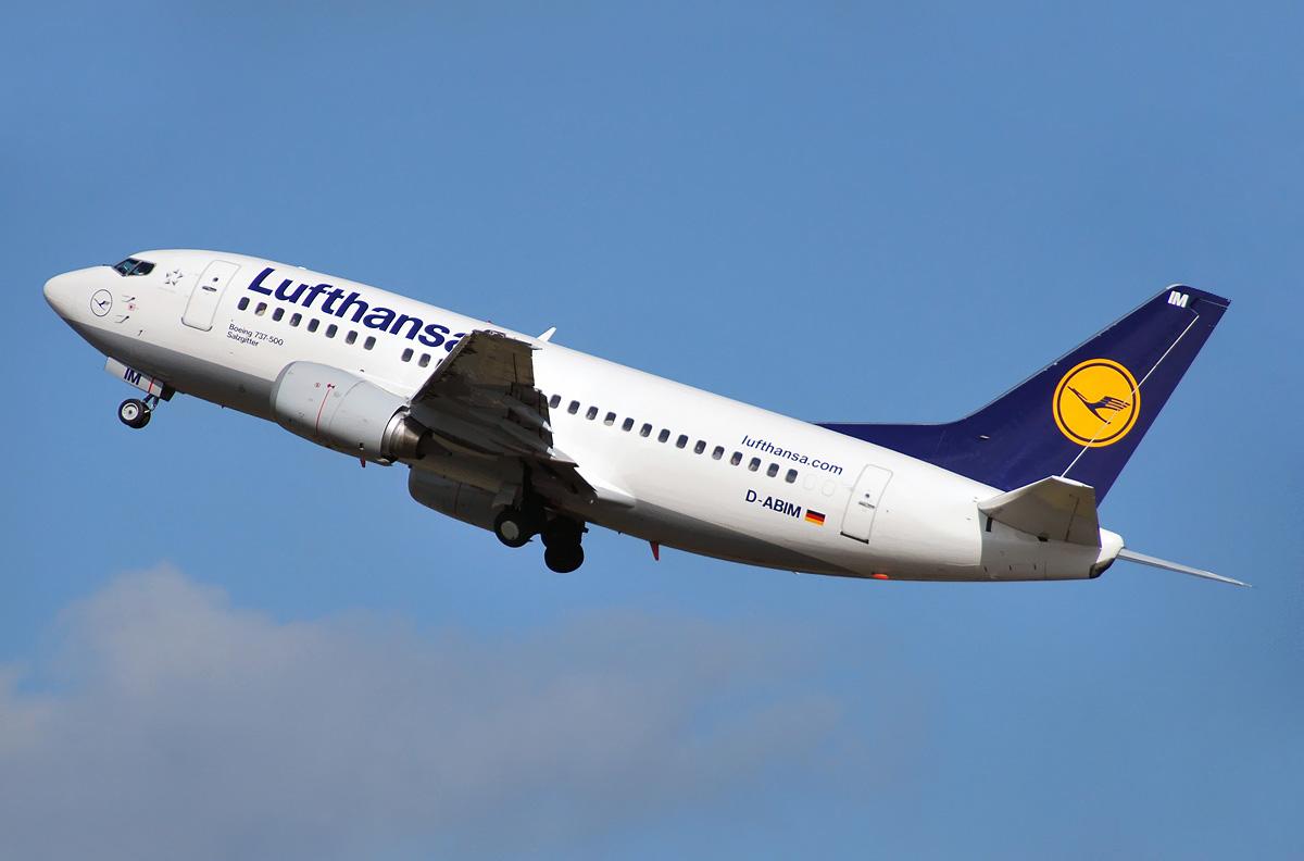 Boeing 737 500 Lufthansa Photos And Description Of The Plane