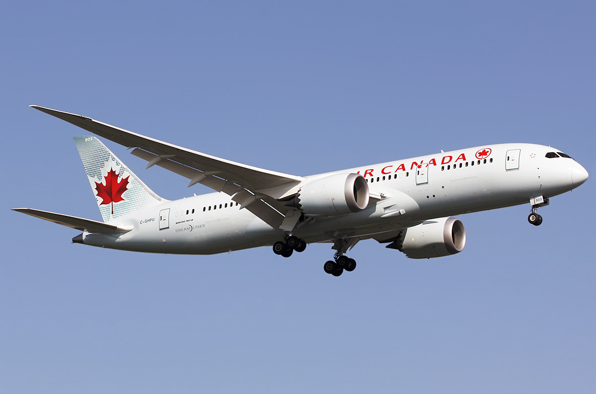 Boeing 787 8 Dreamliner Air Canada Photos And Description
