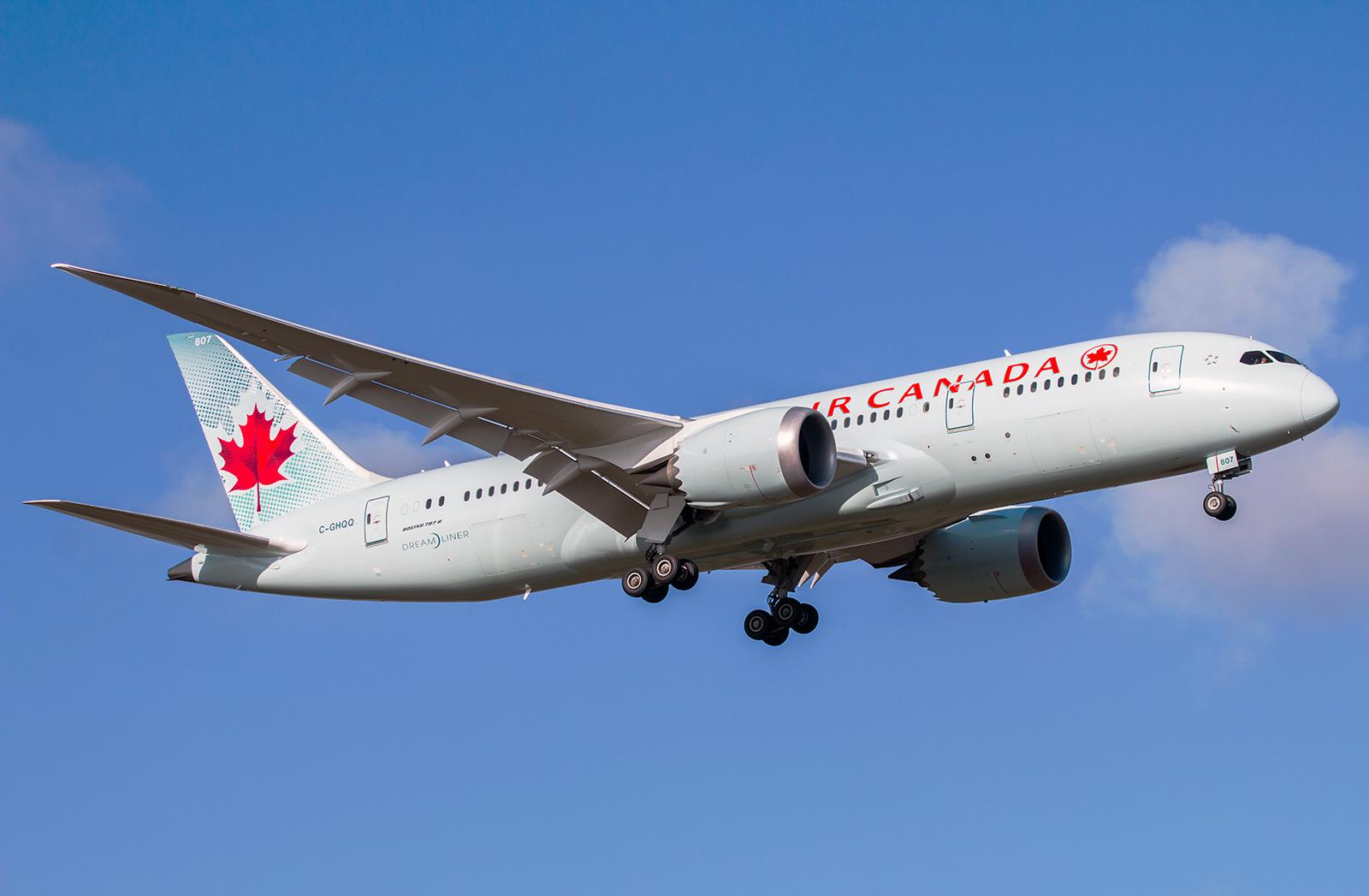 Boeing 787 8 Dreamliner Air Canada Photos And Description