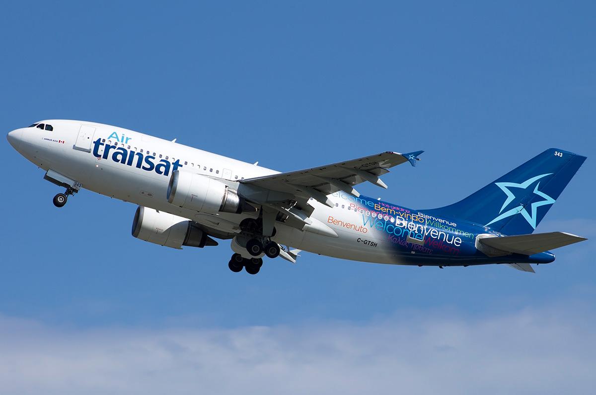 Airbus A310 300 Air Transat Photos And Description Of The Plane