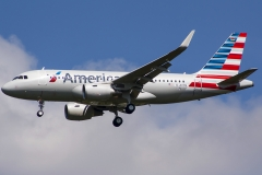 d-avyq American Airlines Airbus A319-112wl