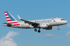 n4005x American Airlines Airbus A319-115wl