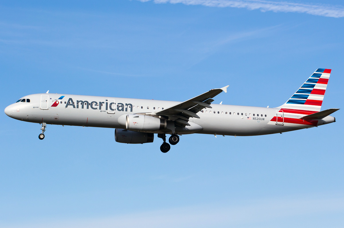 Airbus A321 200 American Airlines Photos And