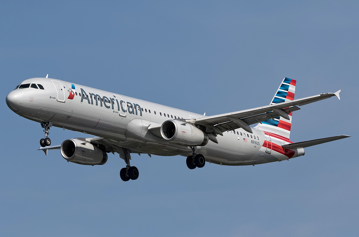 Airbus A321-200 - American Airlines  Photos and description
