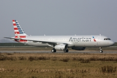d-avzb American Airlines Airbus A321-231wl