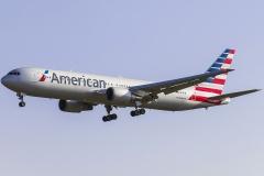 n366aa American Airlines Boeing 767-323