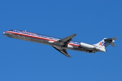 n483a American Airlines McDonnell Douglas MD-82