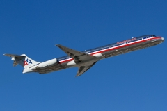 n9628w American Airlines McDonnell Douglas MD-83
