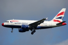g-eunb British Airways Airbus A318-100