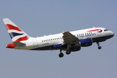 g-eunb British Airways Airbus A318