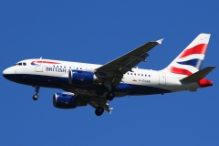 g-eunb British Airways Airbus A318-112