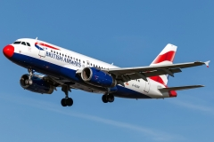 g-euoh British Airways Airbus A319-131