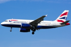 g-eupl British Airways Airbus A319