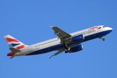 g-euuf British Airways Airbus A320-232