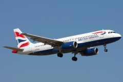 g-euuw British Airways Airbus A320-200