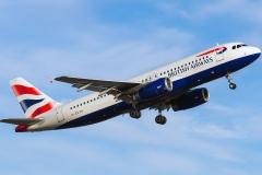 g-euyh British Airways Airbus A320-200
