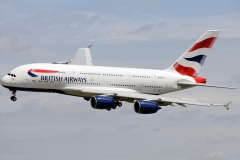 f-wwsk British Airways Airbus A380-841