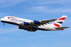 g-xlea British Airways Airbus A380-841