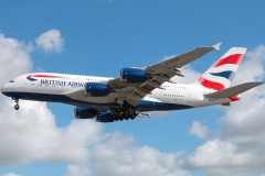 g-xled British Airways Airbus A380-841