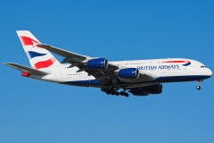 g-xlee British Airways Airbus A380-800