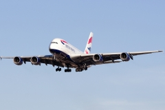 g-xlef British Airways Airbus A380-841