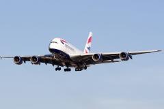 g-xlef British Airways Airbus A380-841