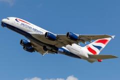 g-xlei British Airways Airbus A380-841