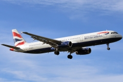g-euxd British Airways Airbus A321-231