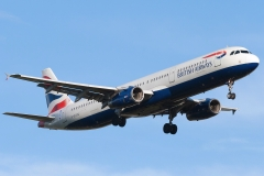 g-euxg British Airways Airbus A321-200