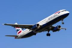 g-euxg British Airways Airbus A321-231