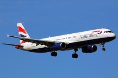 g-euxh British Airways Airbus A321-231