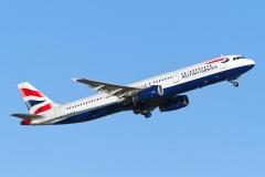 g-euxj British Airways Airbus A321-231