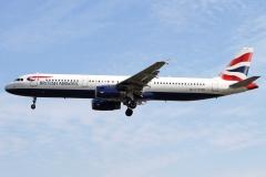 g-euxm British Airways Airbus A321-200