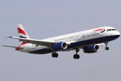 g-medl British Airways Airbus A321-231