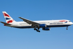 g-bnwb British Airways Boeing 767-336er