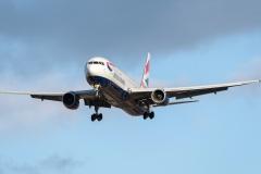 g-bnwc British Airways Boeing 767-300er