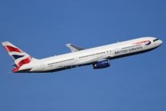 g-bnwr British Airways Boeing 767-300er