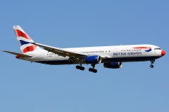 g-bnww British Airways Boeing 767-336er