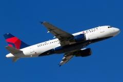 n317nb Delta Air Lines Airbus A319-114