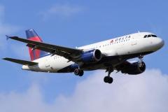 n324nb Delta Air Lines Airbus A319-114